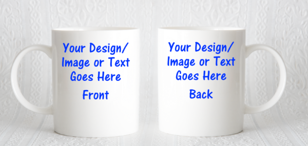 A personalised mug, ideal Fathers day gift