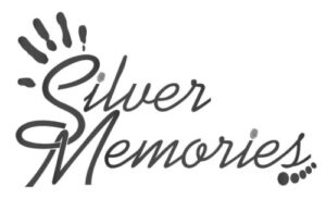 Silver Memories Logo. Handcrafted personalised jewellery. Print jewellery. Personalised gifts